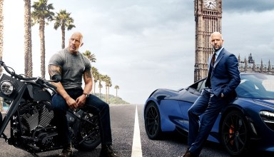 Poster image of Universal Pictures' FAST & FURIOUS PRESENTS: HOBBS & SHAW