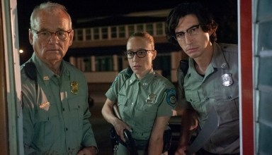 (L to R) Bill Murray, Chloë Sevigny and Adam Driver in writer/director Jim Jarmusch's THE DEAD DON'T DIE, a Focus Features release.