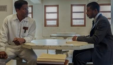 Jamie Foxx and Michael B. Jordan stars in Warner Bros. Pictures' JUST MERCY