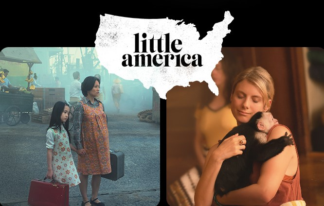 Poster image from Apple TV+'s LITTLE AMERICA