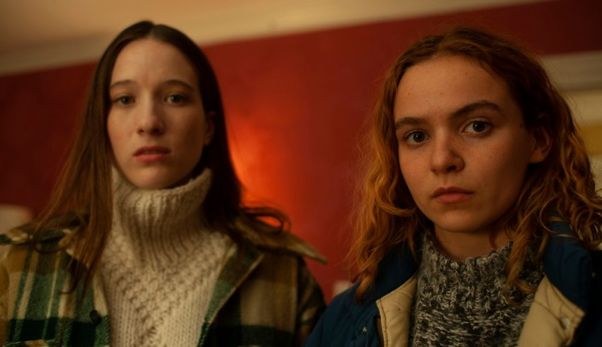Morgan Saylor and Sophie Lowe star in Amazon Studios' BLOW THE MAN DOWN