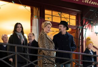 (L-R) Juliette Binoche, Catherine Deneuve, and Ethan Hawke star in IFC Films' THE TRUTH