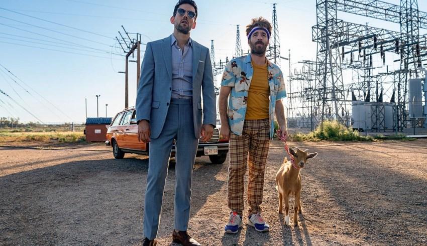 Luis Gerardo Mendez and Connor Del Rio star in Focus Features' HALF BROTHERS
