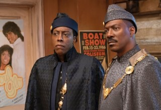 Arsenio Hall and Eddie Murphy star in Amazon's COMING 2 AMERICA
