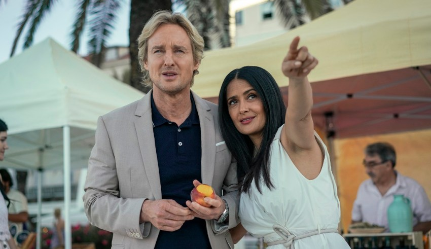 Owen Wilson and Salma Hayek star in Amazon Studios' BLISS