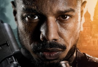 Poster image of Michael B. Jordan in Amazon's WITHOUT REMORSE