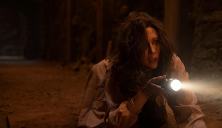 Vera Farmiga stars in Warner Bros. Pictures' THE CONJURING: THE DEVIL MADE ME DO IT