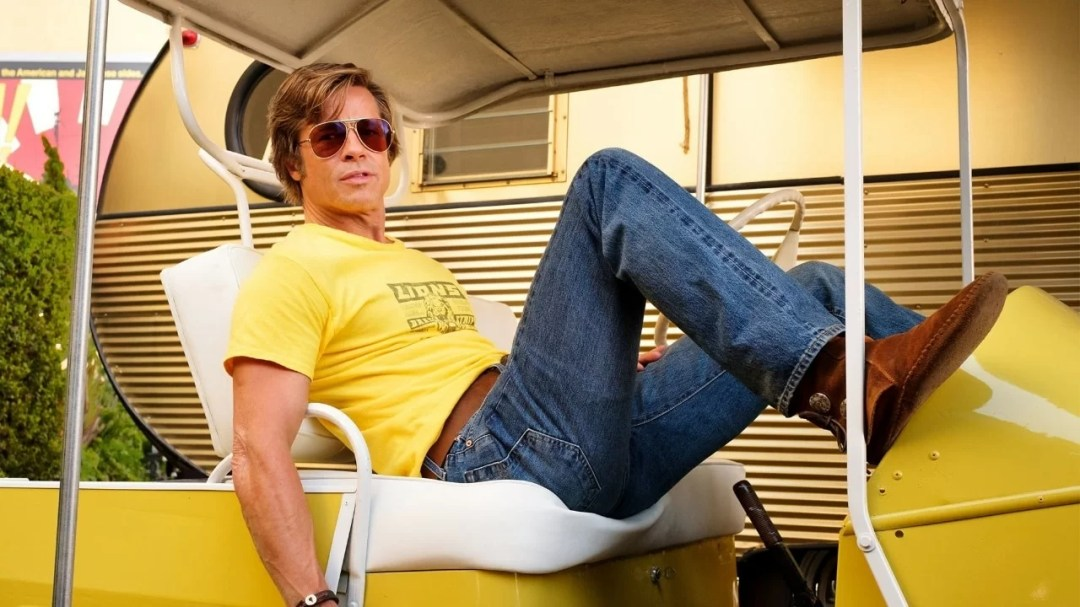 Risultato immagini per once upon a time in hollywood brad pitt