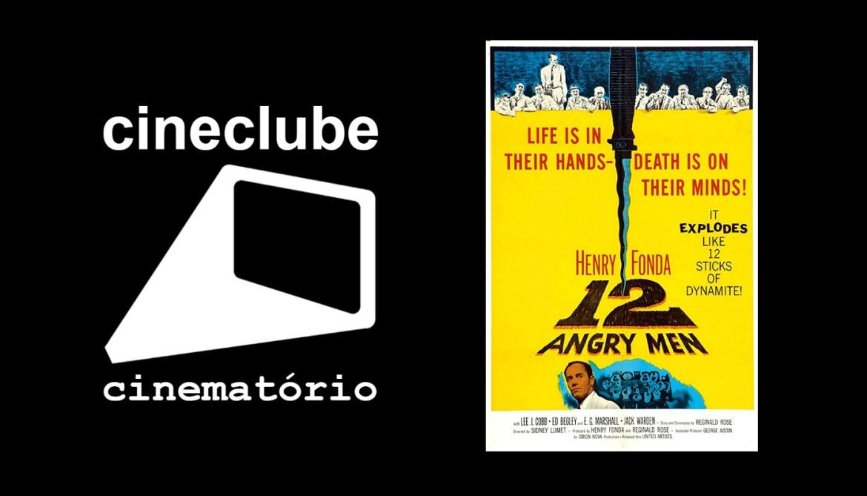 """cineclube cinematório: """"12 Homens e uma Sentença"""" (1957)"""