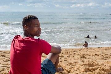 """""""A Profundidade da Areia"""" (2019), de Hugo Reis - Foto: Milena Abreu"""