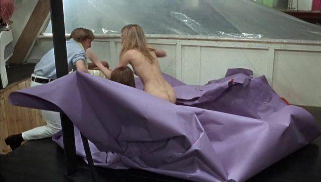 Jane Birkin & Gillian Hills   El primer vello púbico de una mujer en el cine   BLOW UP de Antonioni