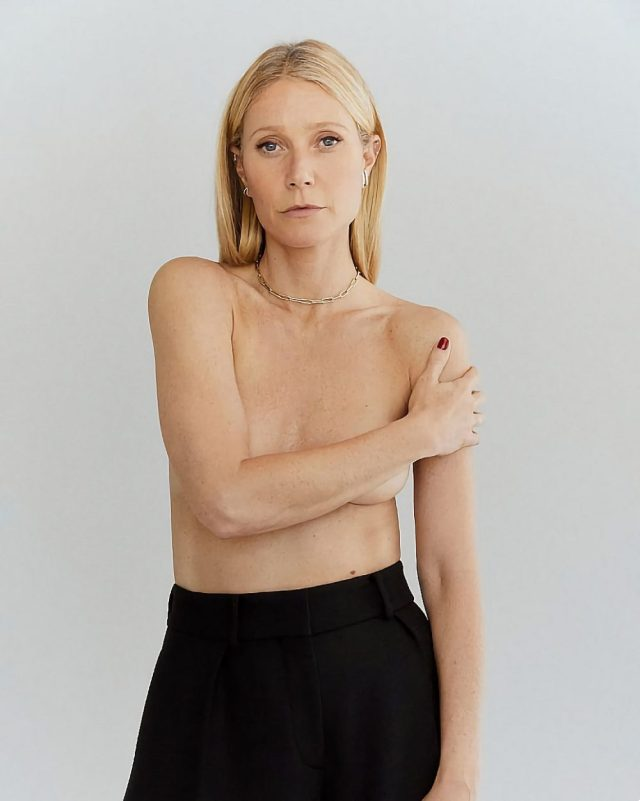 Gwyneth Paltrow desnuda a los 48