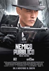 Locandina Nemico Pubblico - Public Enemies Locandina Nemico Pubblico - Public Enemies
