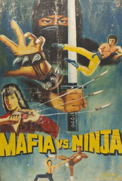 poster - mafia v ninja