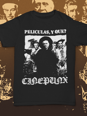 Bow down before the master! Pick yourself up this Cinepunx shirt and impress your friends!