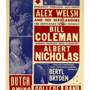 Vintage poster Concertgebouw Jazz