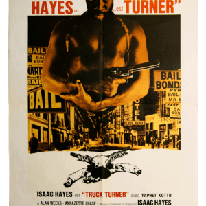 Isaac Hayes Truck Turner original filmposter