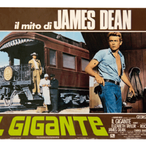James Dean movie 1956 Giant original filmposter