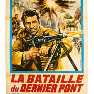 Affiche original La Bataille du dernier pont
