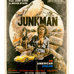 Original filmposter The Junkman