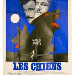 Les Chiens Gerard Depardieu original poster