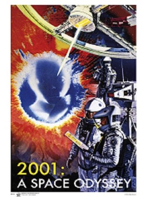 2001 A Space Odyssey Film Poster
