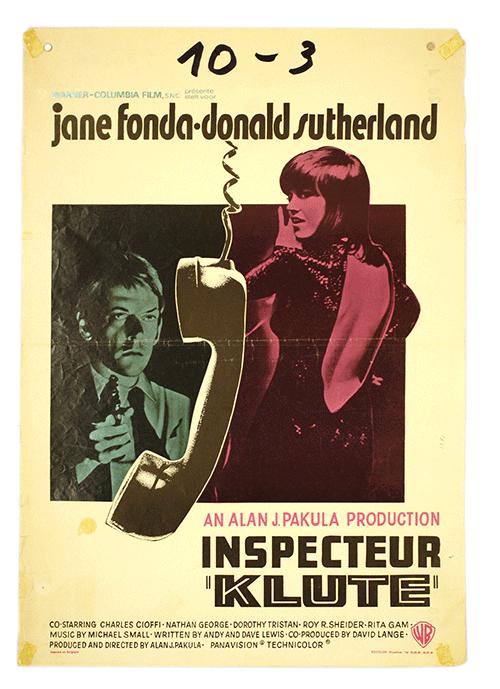 Poster Klute Original
