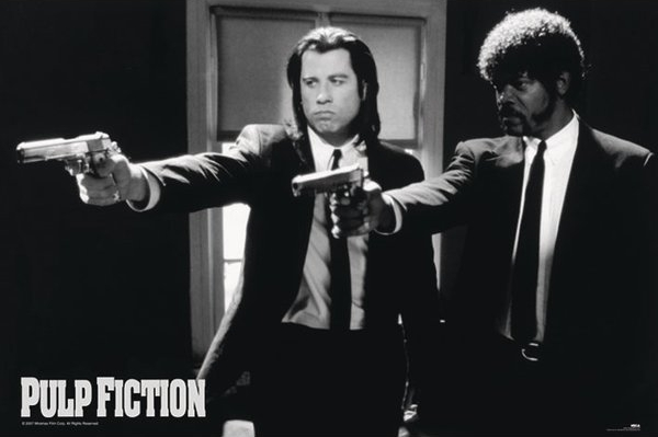 Big Pulp Fiction Poster