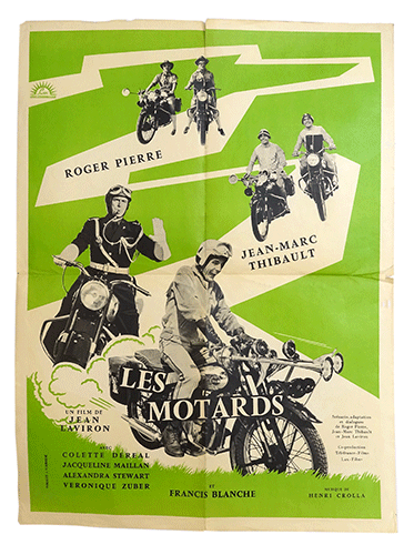 Les Motards film poster