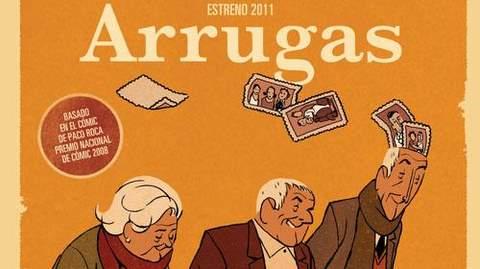 Arrugas nominada a los Goya