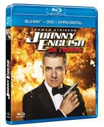 Johnny English en Blu-Ray.