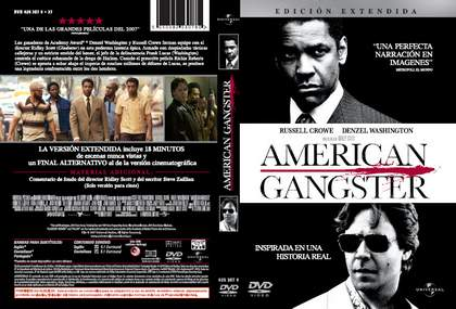 DVD American Ganster.