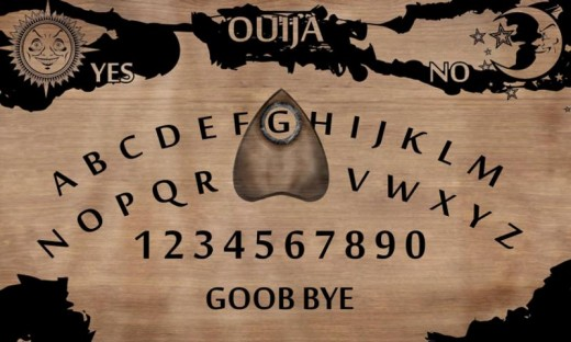 Ouija tablet.