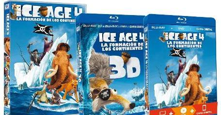 Ice Age 4 en Blu-ray.