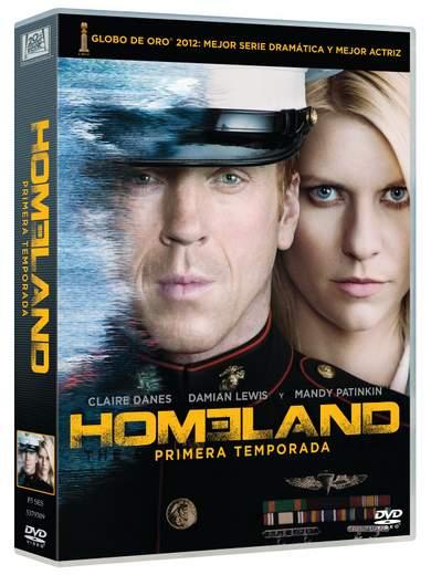 Homeland ya en DVD.