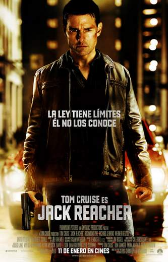Póster de Jack Reacher.