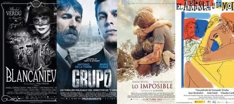 Nominados a los Goya 2013.