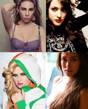 Cuatro Chicas guerreras.