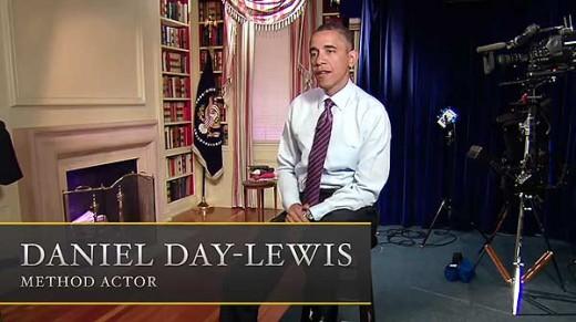 Daniel Day-Lewis es Obama.