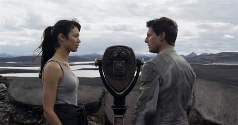 """Imagen de la película """"Oblivion""""."""