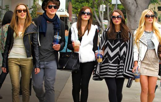 """""""The Bling ring"""" con Emma Watson."""