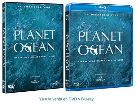 "Carátulas ""Planet Ocean""."