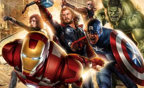 """""""Los Vengadores"""", imagen."""