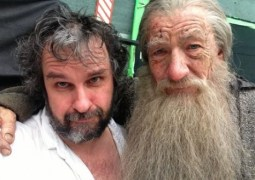 """""""El Hobbit"""". Gandalf se despide de Peter Jackson"""