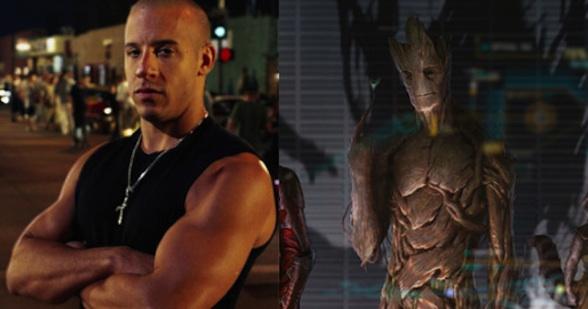 Vin Diesel será Groot.