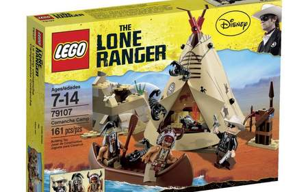 Campamento Comanche de LEGO.