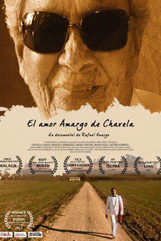"Póster de ""El amor amargo de Chavela""."