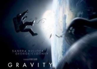 """Póster de """"Gravity""""."""