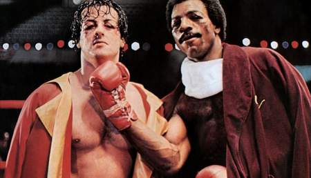 Sylvester Stallone es Rocky Balboa