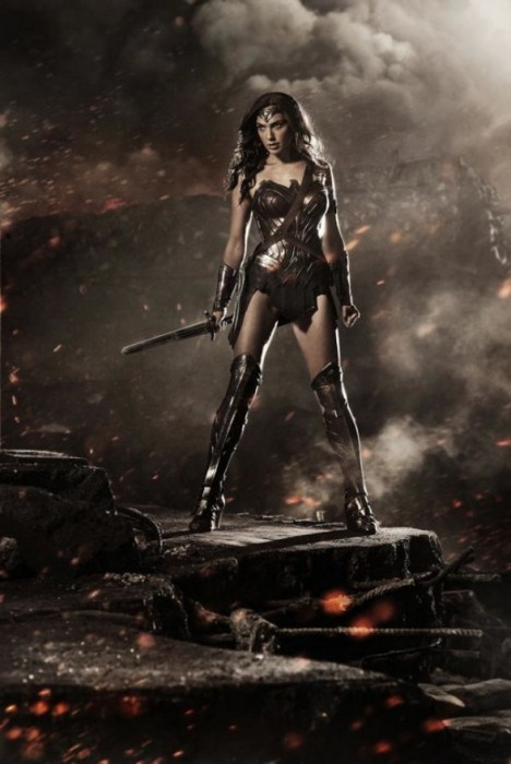 Primer Póster de Wonder Woman